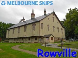skip bins Rowville